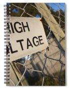 High Voltage Spiral Notebook