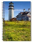 Highland Light Spring Spiral Notebook