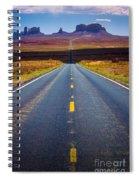 Highway 163 Spiral Notebook