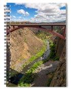 Highway 97 Bridge Spiral Notebook