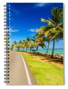 Highway And Coast Spiral Notebook
