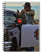 Highway Patrol 6 Spiral Notebook