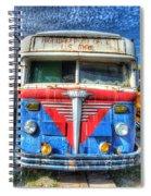 Highway Post Office U.s. Mail Spiral Notebook