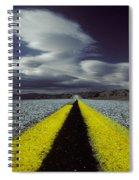 Highway Through Death Valley Spiral Notebook