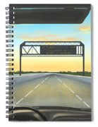 Highway Spiral Notebook