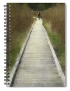 Hikers On Appalachian Trail Spiral Notebook