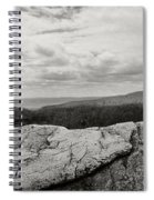 Hikers Standing On The Rocks, Gertrudes Spiral Notebook