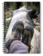 Hiking Boots Spiral Notebook