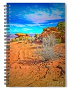 Hiking In Canyonlands Spiral Notebook