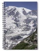 Hiking Mt Rainier Spiral Notebook