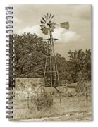 Hill Country Windmill Spiral Notebook