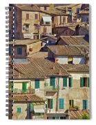 Hill Town Village Of Cortona Spiral Notebook