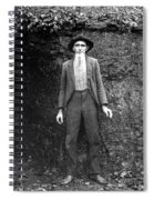Hillbilly, C1900 Spiral Notebook