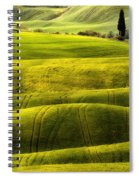 Hills Of Toscany Spiral Notebook