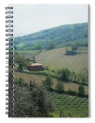 Hills Of Tuscany Spiral Notebook