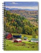Hillside Acres Farm Spiral Notebook