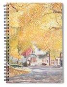 Hillside Avenue Staten Island Spiral Notebook