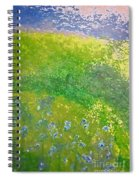 Hillside By Jrr Spiral Notebook
