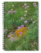 Hillside Of Wildflowers Spiral Notebook