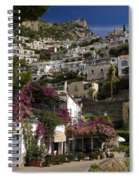 Hillside Positano Spiral Notebook