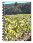 Hillside Vineyard Spiral Notebook