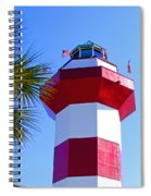 Hilton Head Lighthouse Upclose Spiral Notebook