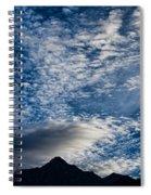 Himalayan Skies Spiral Notebook