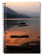 Phewa Lake, Pokhara, Nepal Spiral Notebook