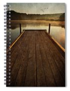 Hinckley Lake Sunrise Spiral Notebook