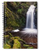 Hindhope Waterfall Spiral Notebook