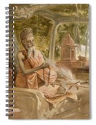 Hindu Fakir, From India Ancient Spiral Notebook