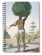 Hindu Servant Cutting Grass, The Spiral Notebook