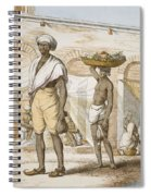 Hindu Valet Or Buyer Of Food, From The Spiral Notebook