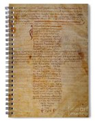 Hippocratic Oath Spiral Notebook