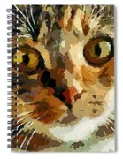 His Eyes Spiral Notebook