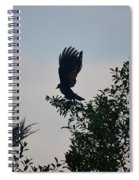 His Morning Stretch Spiral Notebook