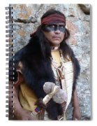 His Warclub - In Color Spiral Notebook
