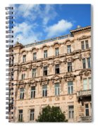 Historic Apartment House In Budapest Spiral Notebook