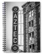 Historic Aztec Theater Spiral Notebook