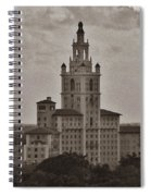 Historic Biltmore Hotel Spiral Notebook