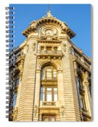 Historic Building Facade Spiral Notebook