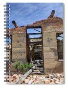 Historic Building Nine Mile Canyon - Utah Spiral Notebook