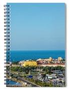 Historic Cartagena And Sea Spiral Notebook