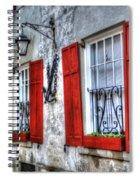 Historic Charleston Pirates House Spiral Notebook