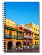 Historic Colonial Facades Spiral Notebook