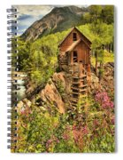 Historic Crystal Colorado Spiral Notebook