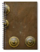 Historic Door In Granada Spiral Notebook