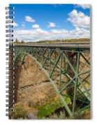 Historic Highway Bridge Spiral Notebook