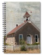 Historic Hinerville School  House  Spiral Notebook