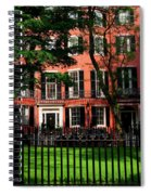 Historic Homes Of Beacon Hill, Boston Spiral Notebook